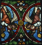 Panel with Censing Angels