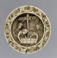 Gamepiece with Episode from the Life of Apollonius of Tyre