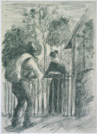 Beggar and Peasant Woman
