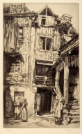 Old Courtyard, Lisieux
