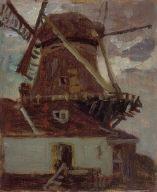 Flour Mill at Old Dordrecht, Holland