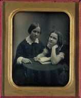 Two Girls with a Book