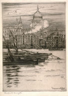The Thames and St. Paul's, London
