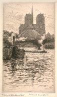 The Seine and Notre-Dame, Paris