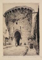 Porte du Jerzual, Dinan