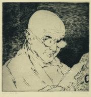 The Numeralist (Self-portrait)