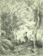Horseman in the Woods