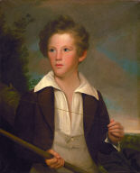 (Portrait of a Boy with a Fishing Pole)