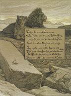 (Illustration for Rubáiyát of Omar Khayyám) Courts of Jamshyd