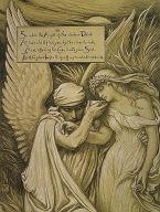 (Illustration for Rubáiyát of Omar Khayyám) The Cup of Death