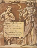 (Illustration for Rubáiyát of Omar Khayyám) The Divorce of Reason