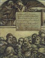 (Illustration for Rubáiyát of Omar Khayyám) The Jarring Sects