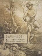 (Illustration for Rubáiyát of Omar Khayyám) The Mighty Mahmud