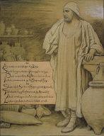 (Illustration for Rubáiyát of Omar Khayyám) In the Potter's House