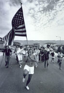 Fourth of July Parade (from book, Suburbia)