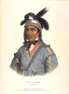 OPOTHLE YOHOLO. A CREEK CHIEF., from History of the Indian Tribes of North America