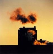 Goodyear #5, Niagara Falls, New York, from the series Smokes