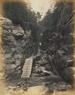 Walkway through a Gorge, White Mountains