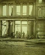 After the Boston Fire, Washington Street