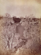 Falls of Minnehaha in Winter