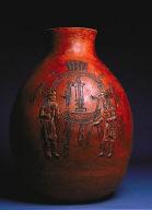 Pot with Figurative Decoration