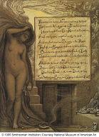 (Illustration for Rubáiyát of Omar Khayyám) The Long Rest