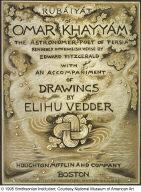 (Illustration for Rubáiyát of Omar Khayyám) Title Page