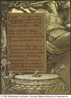 (Illustration for Rubáiyát of Omar Khayyám) The Invitation