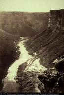 Grand Cañon, Colorado River, Near Paria Creek, Looking West (Wheeler Survey)