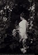 Marjorie in the Garden