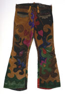 Psychedelic Leather Pants