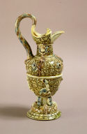 Ewer with Interlace Decoration and Applied Reliefs