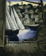 (Harbor Scene)