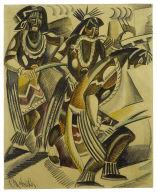 Hopi Snake Dance, Number I