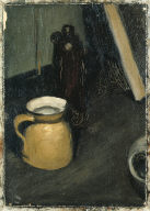 (Still Life with Bottle and Jug)
