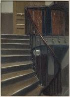 (Stairway at 48 rue de Lille, Paris)