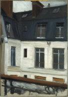 (View Across Interior Courtyard at 48 rue de Lille, Paris)