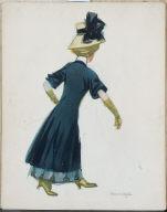 (Parisian Woman Walking)