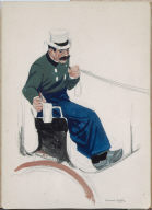 (Seated Carriage Driver)