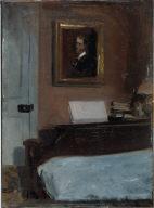 (Artist's Bedroom, Nyack)