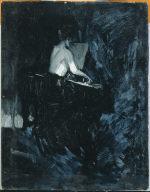 (Seated Woman at Piano)