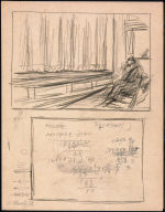 [Study for First Row Orchestra, Drawing for painting First Row Orchestra]