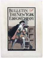 Cover for Bulletin of the New York Edison Company