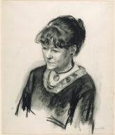 (Portrait of Mrs. Hopper)