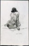(Seated Nude)