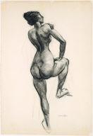 (Standing Nude)