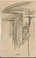 [Globe: Study for New York Movie, Globe: Drawing for painting New York Movie]