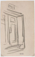 [Strand: Study for New York Movie, Strand: Drawing for painting New York Movie]
