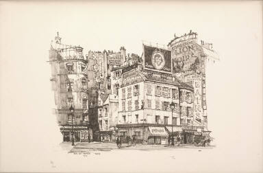 Twenty Lithographs of Old Paris: Rue du Dragon, Paris