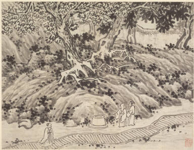 Twelve Views of Tiger Hill, Suchou: The Fool's Spring